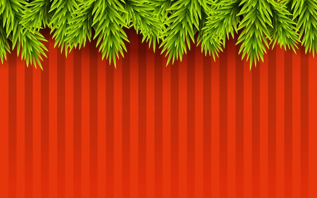 Vrolijke kerstmuur