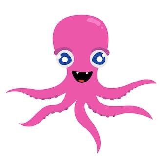Vrolijke octopus tentakels