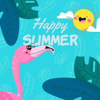 Vrolijke zomer