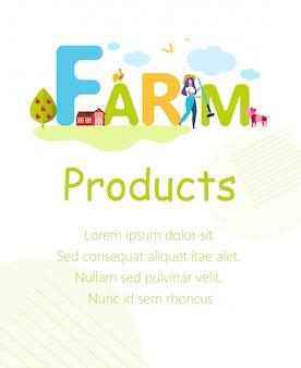 Vrouw met hark en huisdieren op boerderij. farm produkts.