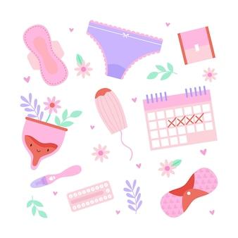 Vrouwelijk reproductief systeemconcept