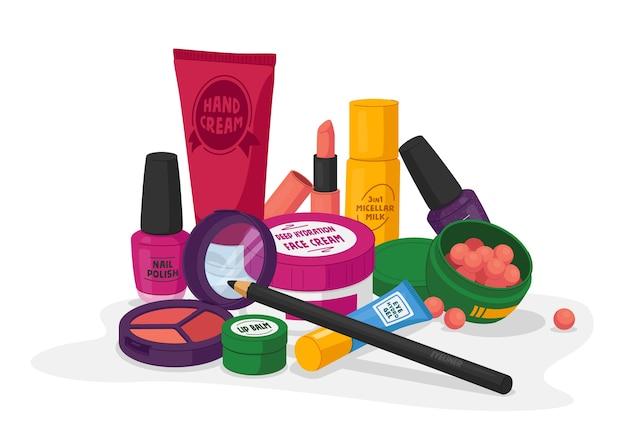 Vrouwelijke cosmetica nagellak