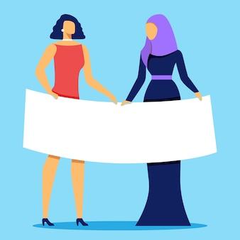 Vrouwelijke kracht, vrouwelijk, feminisme empowerment van vrouwen