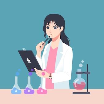 Vrouwelijke wetenschapper