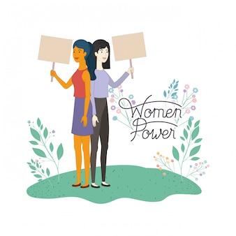 Vrouwen met label dameskracht avatar karakter