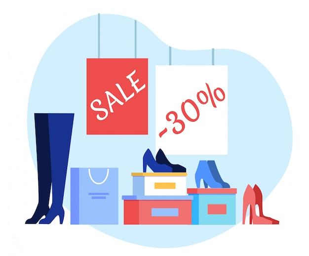 Vrouwen schoenen groothandel sjabloon
