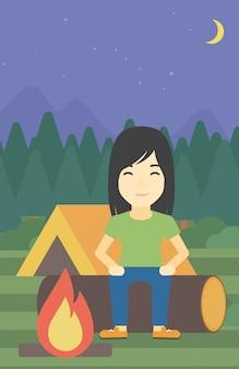 Vrouwenzitting op login de kamperen.