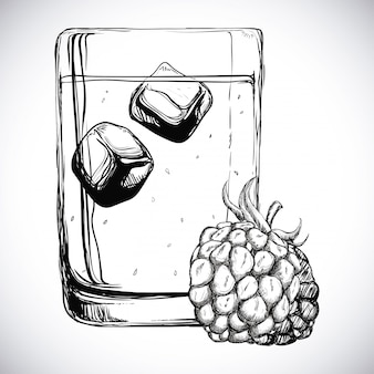 Vruchtensap ontwerp