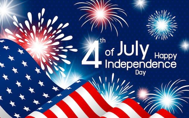 Vs 4 juli onafhankelijkheidsdag