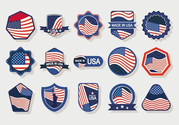 Vs-badges set