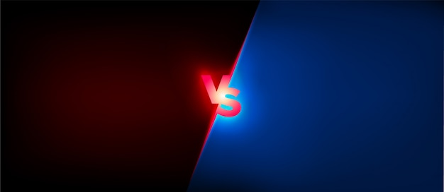 Vs geweldig ontwerp voor elk doel. strijd concept. confrontatie strijd concurrentie. boksen logo. conflict teken. voetbalwedstrijd. voetbalcompetitie. toernooi pictogram. versus logo vector. tegenover concept