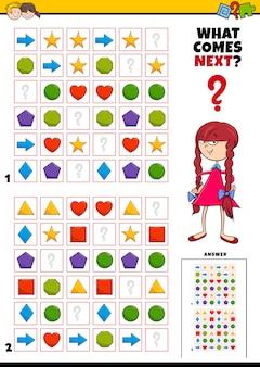 Vul het educatieve patroonspel