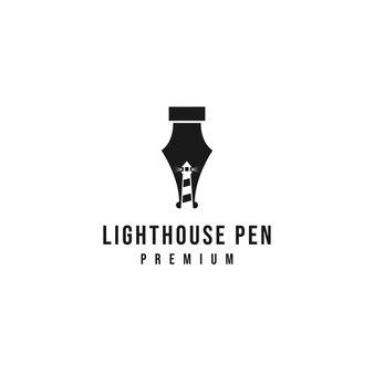 Vuurtoren pen logo