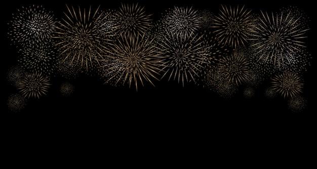 Vuurwerk. illustratie