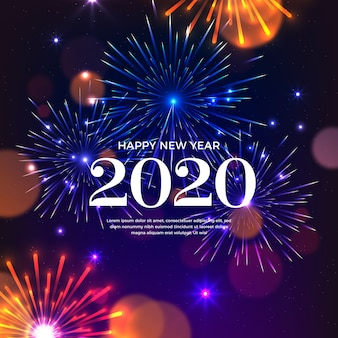 Vuurwerk nieuw jaar 2020