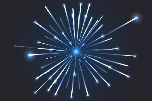 Vuurwerk vector. futurlism lines achtergronden, abstract