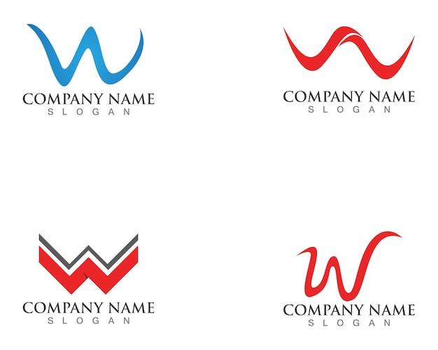 W letter logo's