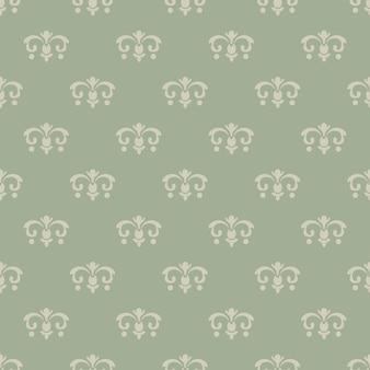 Wallpaper vintage stijl. naadloos patroon, achtergrondontwerp, decoratief retro decor, vectorillustratie