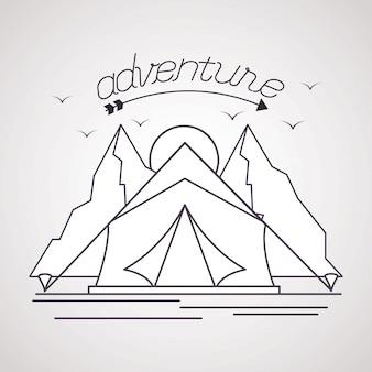 Wanderlust verken het avonturenlandschap
