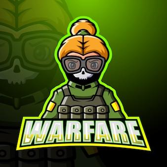Warfare mascotte esport