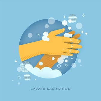 Was uw handenconcept