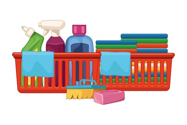 Wasgoed en schoonmaakaccessoires