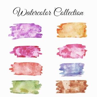 Washi tape aquarel set illustratie