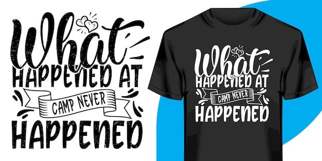 Wat er in het kamp is gebeurd, is nooit een t-shirt gebeurd