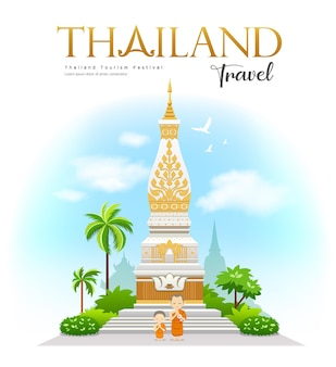Wat phra that phanom, provincie nakhon phanom