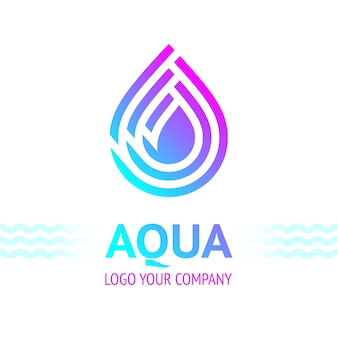 Water drop symbool