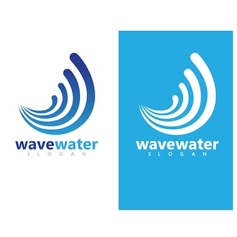Water golf pictogram vector illustratie ontwerp logo