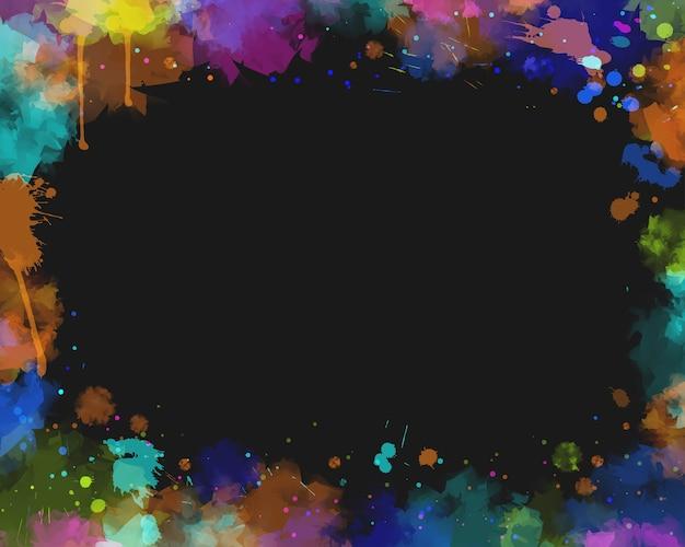 Water kleur achtergrond