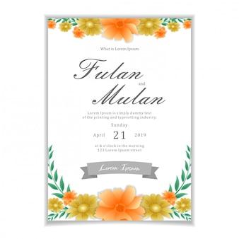 Water kleur ontwerp voor feest of bruiloft