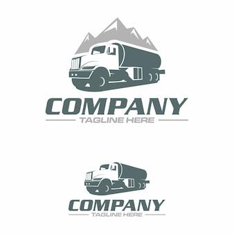 Water vrachtwagen logo