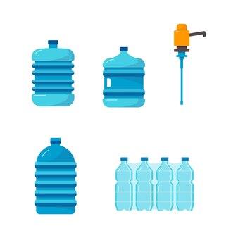 Waterafgiftecontainerset