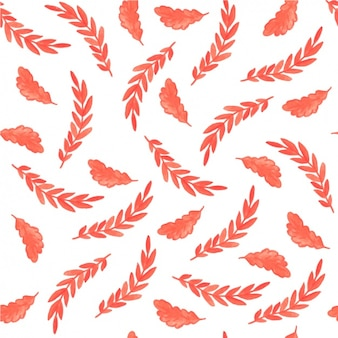 Watercolor takken patroon ontwerp