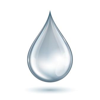 Waterdruppel. illustratie