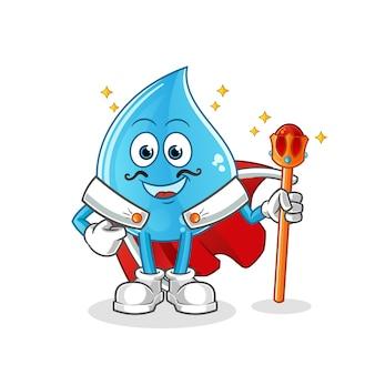 Waterdruppel koning