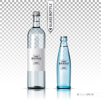 Waterglasflessen