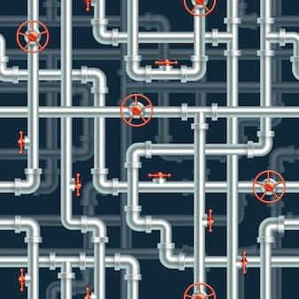 Waterleiding naadloze patroon