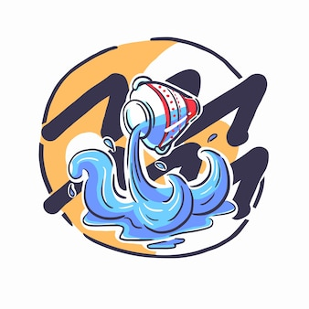 Waterman in dierenriem