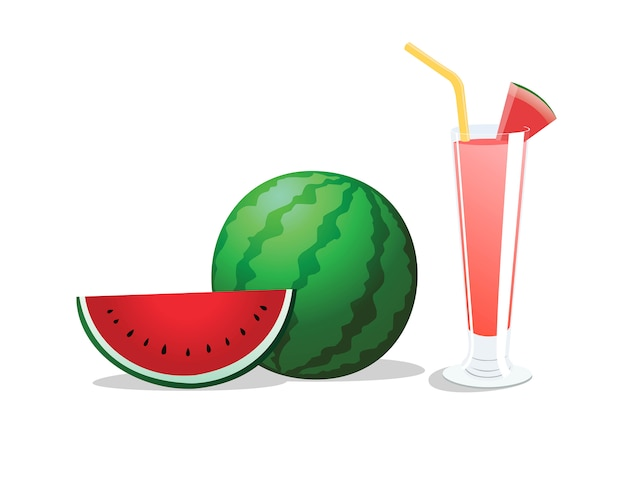 Watermeloen is een tropisch fruit