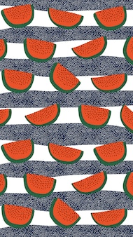 Watermeloen patroon