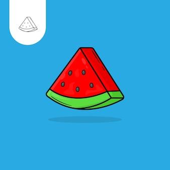 Watermeloen tekenfilm