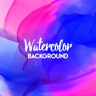 Waterverf abstracte achtergrond