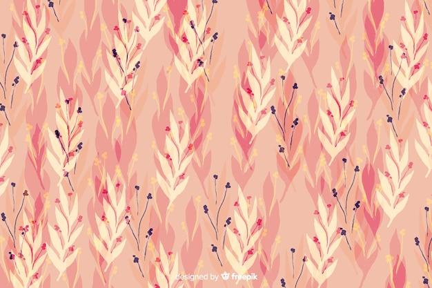 Waterverf bloemen roze naadloze achtergrond