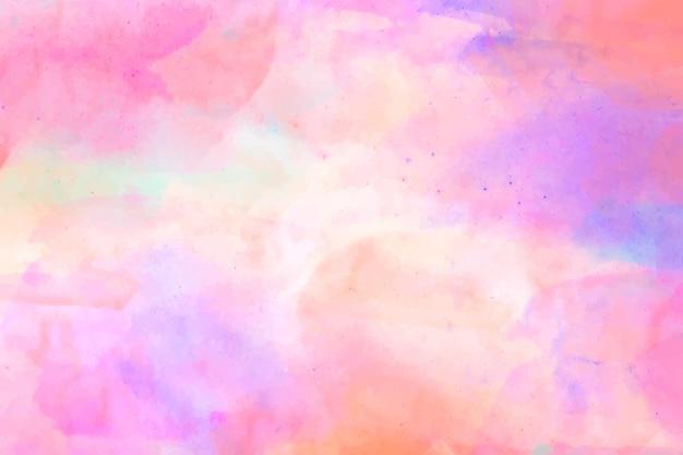 Waterverf geschilderd abstract behang