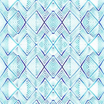 Waterverf tribal pattern
