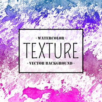 Waterverftextuur met heldere roze en blauwe tonen