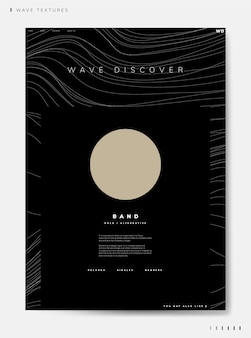 Wave ontdek band info vector